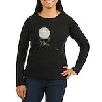 USB Crystal Ball Women's Long Sleeve Dark T-Shirt