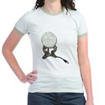 USB Crystal Ball Jr. Ringer T-Shirt