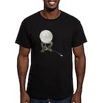 USB Crystal Ball Men's Fitted T-Shirt (dark)