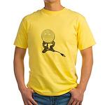 USB Crystal Ball Yellow T-Shirt