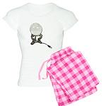 USB Crystal Ball Women's Light Pajamas