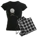 USB Crystal Ball Women's Dark Pajamas