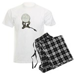 USB Crystal Ball Men's Light Pajamas