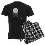 USB Crystal Ball Men's Dark Pajamas