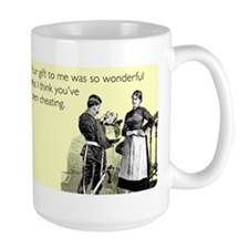 Think You've Been Cheating Large Mug