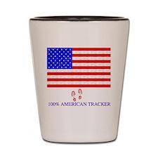 American Tracker Shot Glass