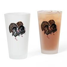 Wild Turkey Pair Drinking Glass