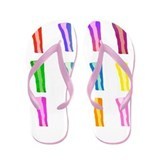 Bacon Abstract Flip Flops