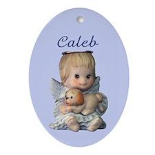 Caleb Ornament (Oval)