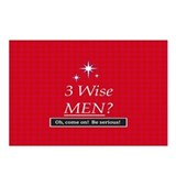 3 Wise Men? Oh, Come On! Postcards (Package of 8)