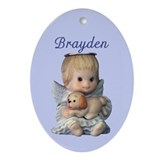 Brayden Ornament (Oval)
