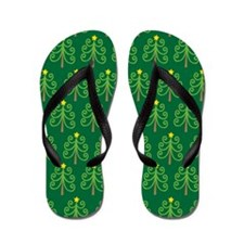 Christmas Tree Holiday Flip Flops Gift