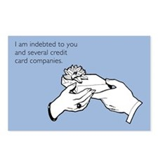 Indebted to You Postcards (Package of 8)