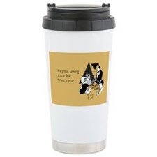 Few Times A Year Stainless Steel Travel Mug