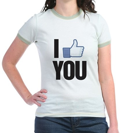 I like you Jr. Ringer T-Shirt