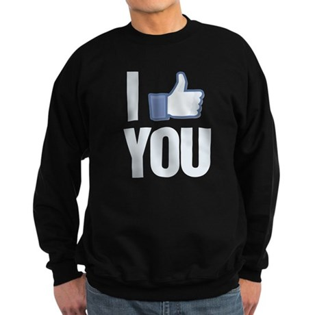 I like you Sweatshirt (dark)