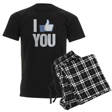 I like you Men's Dark Pajamas
