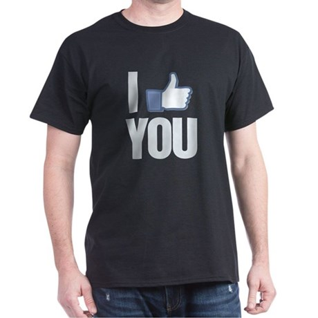 I like you Dark T-Shirt