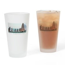 SF Bay Sailing Cool Drinking Glass