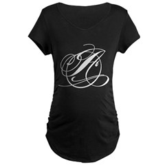Circle A Maternity Dark T-Shirt