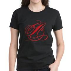 Circle A Women's Dark T-Shirt