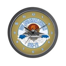CVN-72 USS Lincoln Wall Clock