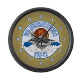 CVN-72 USS Lincoln Large Wall Clock