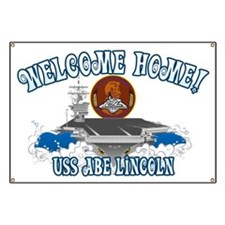 Welcome USS Lincoln! Banner