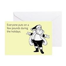 Holiday Pounds Greeting Card