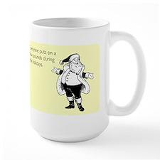 Holiday Pounds Large Mug