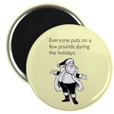 Holiday Pounds Magnet