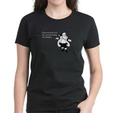 Holiday Pounds Women's Dark T-Shirt