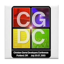 CGDC 03 Tile Coaster