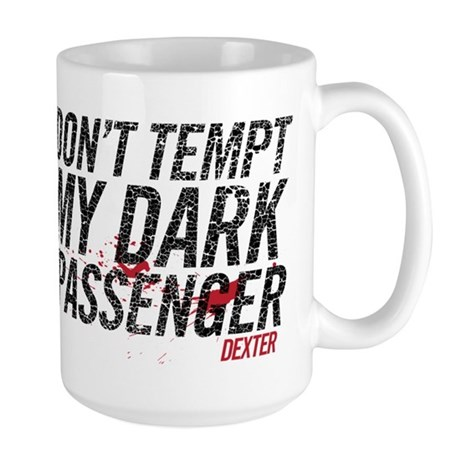 My Dark Passenger Large Mug