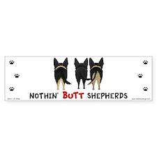 Nothin' Butt Shepherds Car Sticker