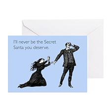 Secret Santa You Deserve Greeting Cards (Pk of 20)