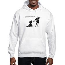 Secret Santa You Deserve Hooded Sweatshirt
