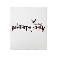 Twilight Immortal Child by Twibaby Throw Blanket