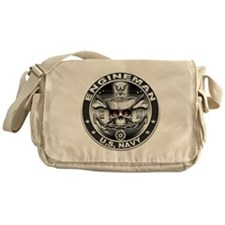 USN Engineman Skull EN Dont T Messenger Bag