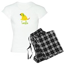Leslie Loves Puppies Pajamas