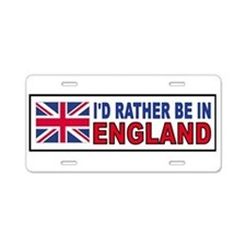 Unique England rugby Aluminum License Plate