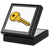 Key symbol Keepsake Box