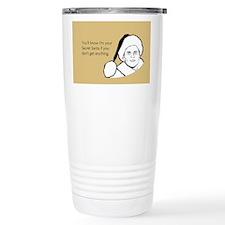 Giftless Secret Santa Stainless Steel Travel Mug