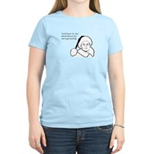Giftless Secret Santa Women's Light T-Shirt