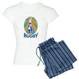 rugby line out Pajamas