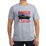67 Mustang Fastback Men's Fitted T-Shirt (dark)