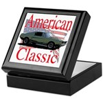 67 Mustang Fastback Keepsake Box