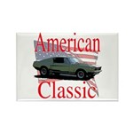 67 Mustang Fastback Rectangle Magnet (10 pack)