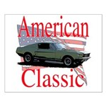 67 Mustang Fastback Small Poster