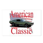 67 Mustang Fastback Postcards (Package of 8)